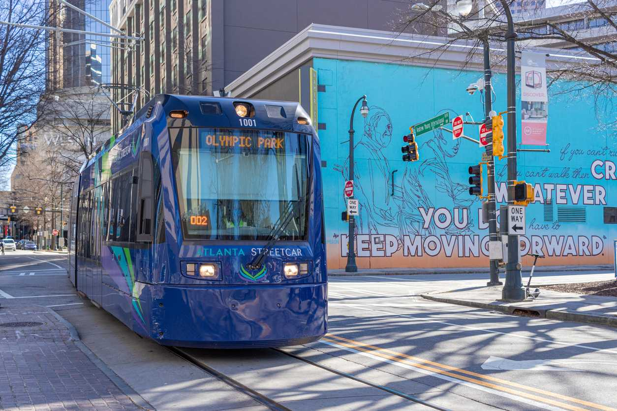 Drawdown Georgia- Atlanta Mass Transit