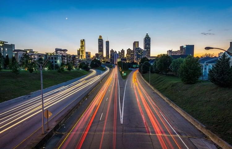 Drawdown Georgia- Atlanta Skyline
