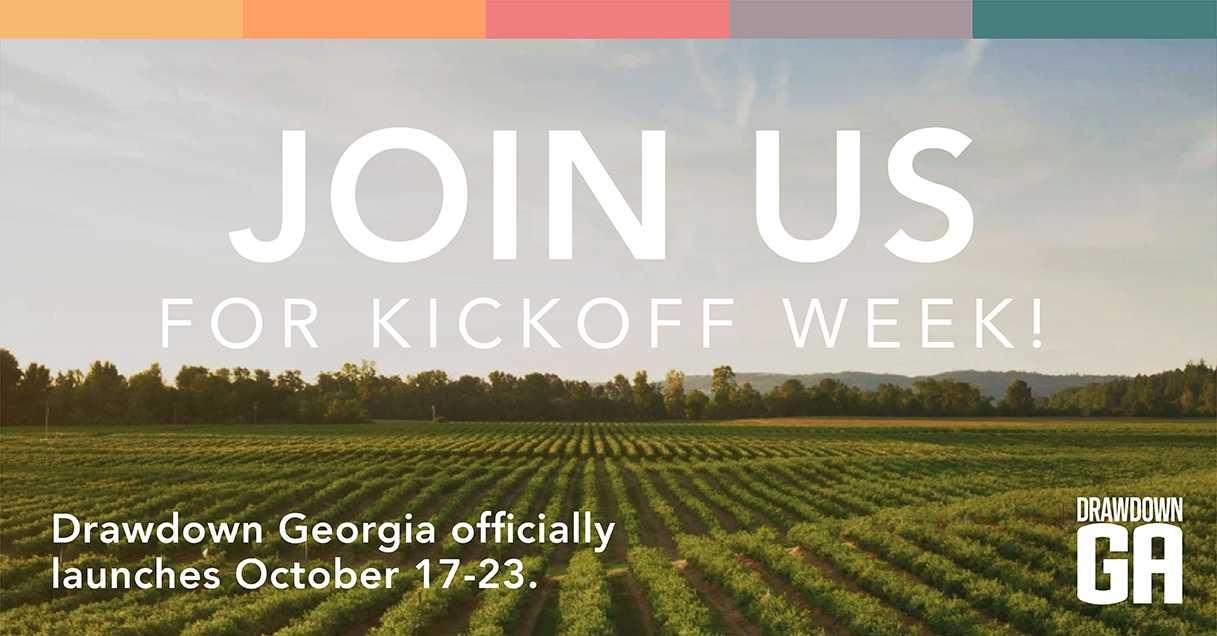 Drawdown Georgia- Linkedin Kick-off Week