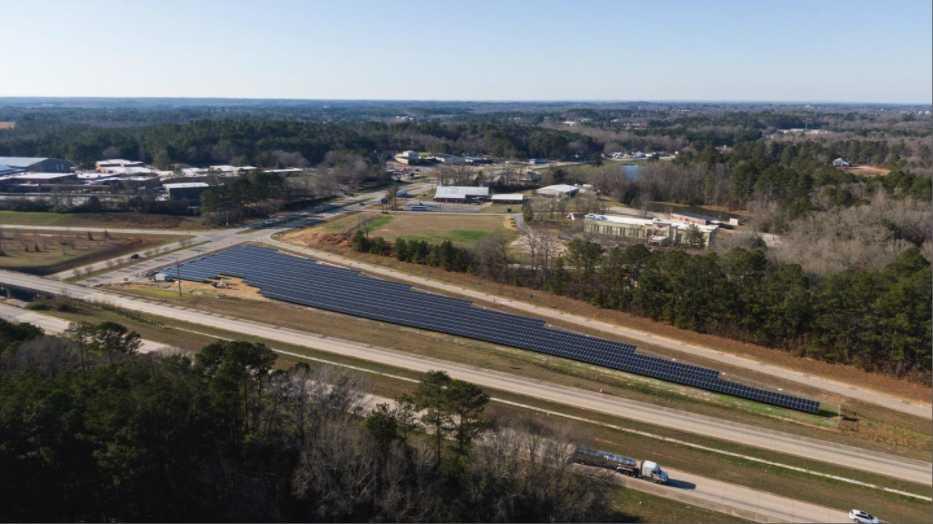 Drawdown Georgia- The Ray Highway Large-Scale Solar