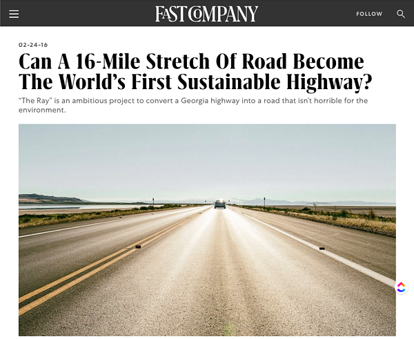 The Ray Highway Fast Company